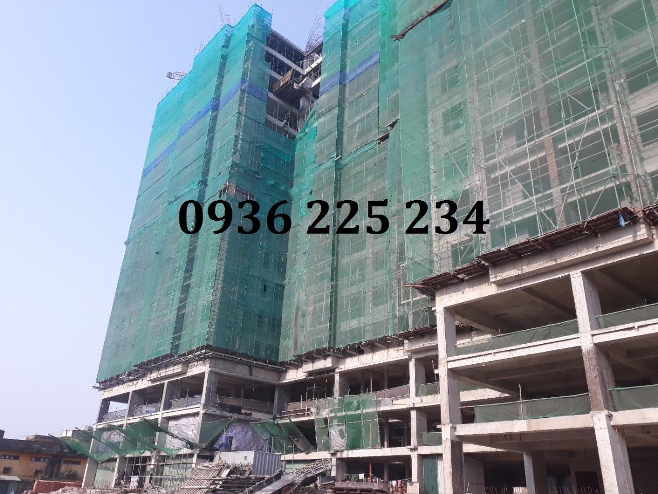Cập nhật hình ảnh xây dựng công trường tại Chung cư Sky Central